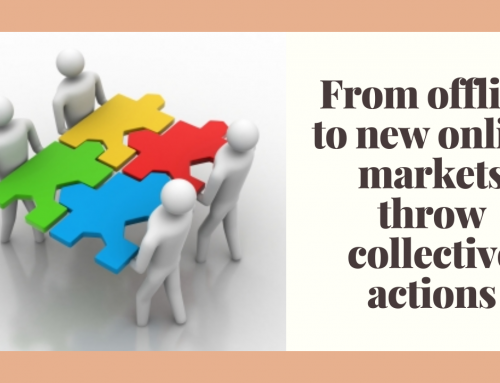 From offline to new online markets throw collective actions