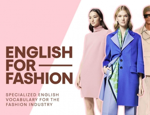 Curs specializat de Business Fashion English