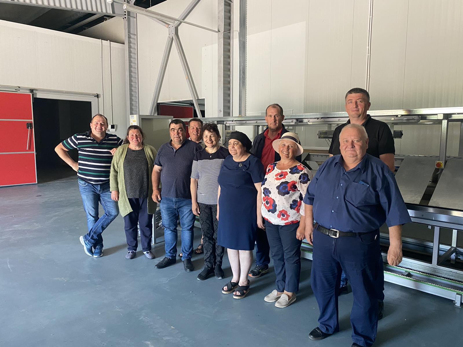 Consolidarea Grupului de Producători prin asistență tehnică consolidată