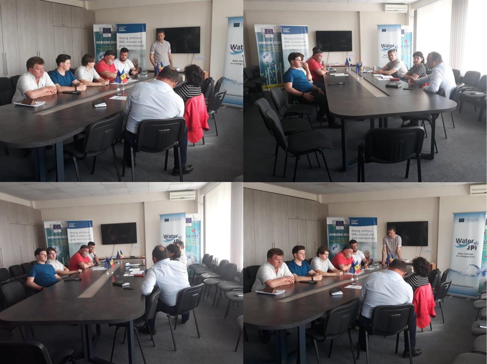 Sesiune de instruire dedicată asistenței în dezvoltarea capacităților manageriale, tehnologice, juridice și economico-financiare a Grupului de Producători